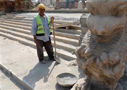 أعمال ترميم قصر البارون