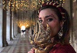 كرنفال فينيسيا بالالوان المبهجه فى إيطاليا