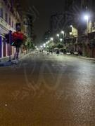 شوارع القاهرة تخلو من المواطنين مع بدء سريان حظر التجوال