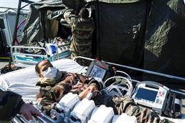 المستشفيات المؤقتة تغزو العالم لمواجهة وباء كورونا