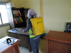 وزارة النقل تواصل الإجراءات الاحترازية لمواجهة فيروس كورونا