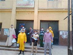 فريق طبى لحصر وتقصى المخالطين بعد تسجيل حالة ايجابية بدار السلام