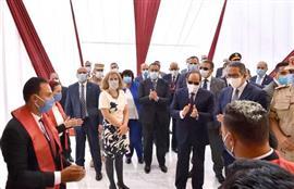 الرئيس السيسي يشهد افتتاح مشروعات تطوير منطقة شرق القاهرة ومطاري سفنكس والعاصمة الإدارية