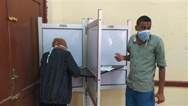 استمرار توافد الناخبين على لجان الاقتراع للإدلاء بأصواتهم في انتخابات مجلس الشيوخ لليوم الثاني