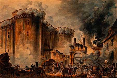 سجن باستيل-فرنسا-انشئ بين عامي 1370 و 1383 كحصن للدفاع عن باريس ومن ثم كسجن للمعارضين السياسيين ،وأصبح على مدار السنين رمزاً للطغيان و انطلقت منه الثورة الفرنسية في 14 يوليو1789 واصبح يوماً وطنياً