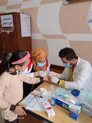 تدشين-مبادرة-علاج-أمراض-سوء-التغذية-بين-أطفال-المدارس-بالدقهلية