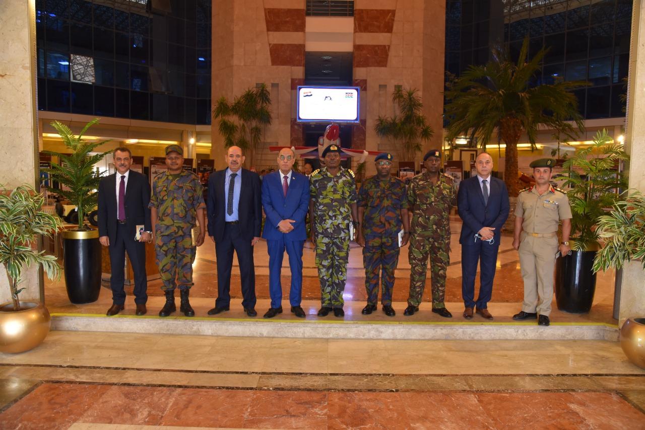 تعزيز التعاون بين العربية للتصنيع ودول حوض النيل ومباحثات مهمة مع وفد عسكري كيني