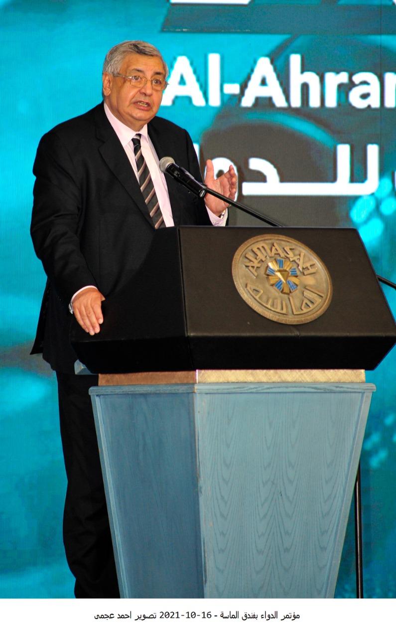 د-عوض-تاج-الدين-اهتمام-ودعم-من-الرئيس-السيسي-لتوطين-صناعة-الدواء-في-مصر-بمعايير-عالمية