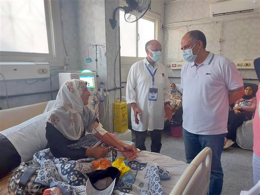 السقعان-خلال-جولات-تفقدية-للمستشفيات-ومراكز-التطعيم-بالإسكندرية-توافر-الأكسجين-بالمستشفيات-لمواجهة-جائحة-كورونا