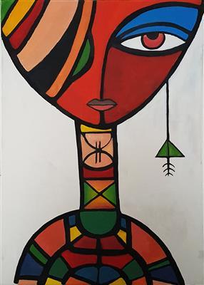 فن--إفريقيا-بجاليرى-لمسات