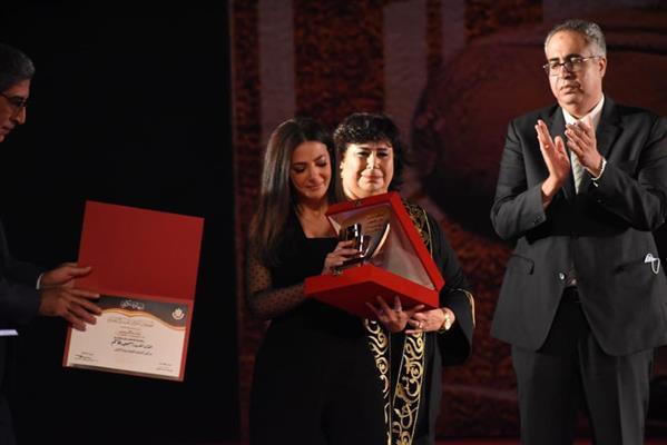 تكريم  فنانين فى المهرجان القومي للمسرح