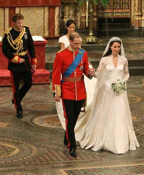 الزفاف الملكي البريطاني بالصور بالصور