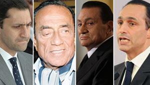 اخر اخبار مبارك احاله مبارك ونجليه وحسين سالم