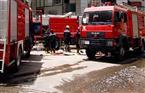 الدفع بـ7 سيارات إطفاء للسيطرة على حريق بمصنع موتوسيكلات بقليوب