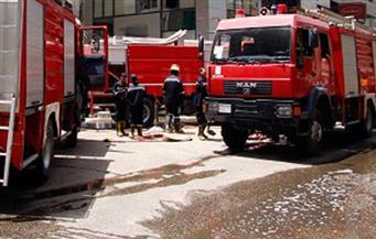 السيطرة على حريق بعقار بمنطقة العتبة