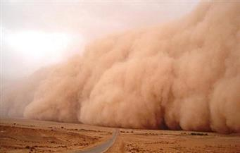 جنوب سيناء: إغلاق الطريق الدولي بسبب عاصفة رملية