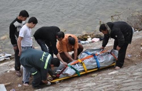 بعد  ساعة من غرقهما انتشال جثتين من مياه البحر المتوسط بالبرلس