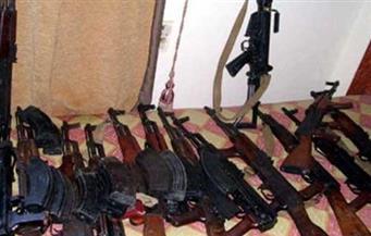 ضبط 49 قطعة سلاح بينها رشاشان جرينوف فى 5 مراكز بأسيوط