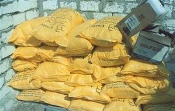 في حملات تموينية بالجيزة.. ضبط نصف مليون طن أسمدة مغشوشة و26 طن أعلاف و9 أطنان أغذية فاسدة
