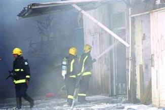 إخماد حريق بحظيرة مواشي ونفوق 8 رؤوس ماشية بالفيوم