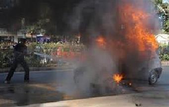 مصرع مقاول في حادث انفجار سيارته بالطريق الصحراوي بالمنيا