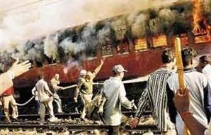 حريق هائل قطار أسيوط للقاهرة