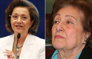 فرخندة حسن: سوزان مبارك تسرق