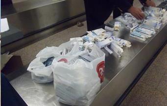 ضبط 35892 عبوة من الأدوية المهربة ومجهولة المصدر بالإسكندرية