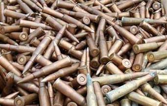 ضبط 29 خزينة طلقات أسلحة نارية في حملة أمنية