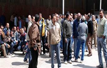 """عمال شركة تركية يعتصمون لصرف مستحقاتهم..الإدارة تقطع الكهرباء قبل الإفطار.. و""""العاملة"""" بالمنوفية تعقد جلسة صلح"""