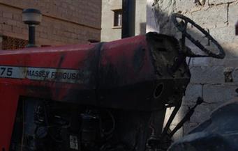 مصرع عامل غرقاً بعد  انقلاب الجرار الزراعى بترعة جهينة فى سوهاج
