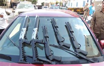 ضبط ثلاث بنادق خرطوش داخل منزل تجار سلاح بالضبعة