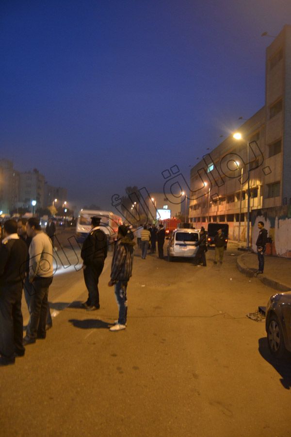 تفاصيل وصور انفجار حدائق القبه 25-11-2013