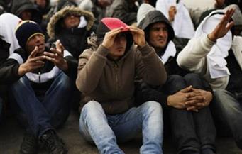 ضبط 15 مهاجرًا غير شرعي قبل سفرهم إلى إيطاليا بالبحيرة