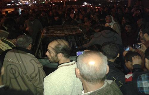 تفاصيل مقتل سائق تاكسي المنصورة علي يد الاخوان المسلمين بالصور والفيديو