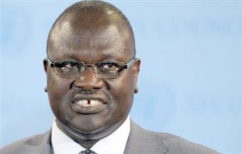 الخرطوم تستقبل زعيم المتمردين فى جنوب السودان للعلاج