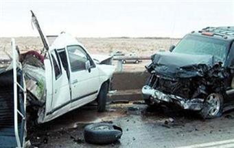مصرع عامل وإصابة 4 آخرين في حادث مروري بطريق أسيوط الغربي بالفيوم