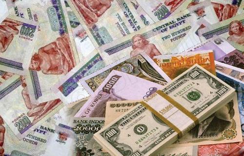اسعار صرف العملات الخميس 2013/4/4