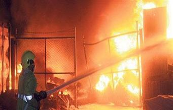 انفجار محلين تجاريين فى الغربية بسبب تسرب الغاز