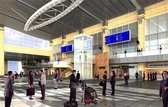 وفد برلماني ياباني يزور مطار برج العرب بالإسكندرية