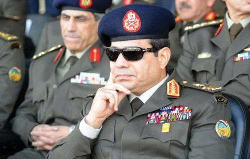 السيسي: القوات المسلحة تنحاز لإرادة