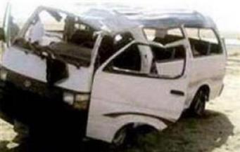 مصرع شخصين وإصابة 3 في حادث تصادم بالبحيرة