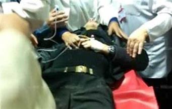 إصابة أمين شرطة بطلق نارى بالخطأ من سلاحه الميرى بالطالبية