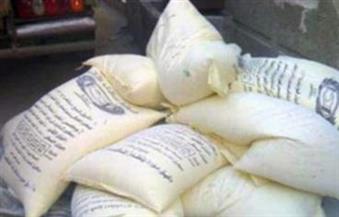ضبط 50 شيكارة دقيق مدعم قبل تهريبها إلى السوق السوداء في كفر الشيخ