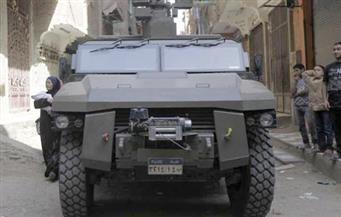 القوات المسلحة تتسلم مجموعة ناقلات الجند المدرعة من الولايات المتحدة
