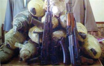 ضبط 13 كيلو بانجو وأسلحة نارية بحوزة 3 عاطلين في أسوان