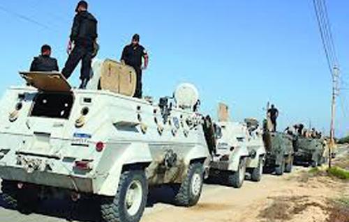 شهود عيان: استنفار عسكري منطقة