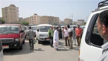 """إضراب سائقي خط """" المحلة – شرشابة"""" للمطالبة بتعديل تعريفة الركوب الجديدة"""