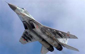 """تحطم طائرة روسية من طراز """"ميج - 29"""" في منطقة بوشكينو شمال شرقي موسكو"""