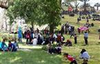 الإشغال في رأس البر يصل إلى 100% في احتفالات شم النسيم.. والمحافظة متأهبة لتوفير الخدمات وتأمين المواطنين